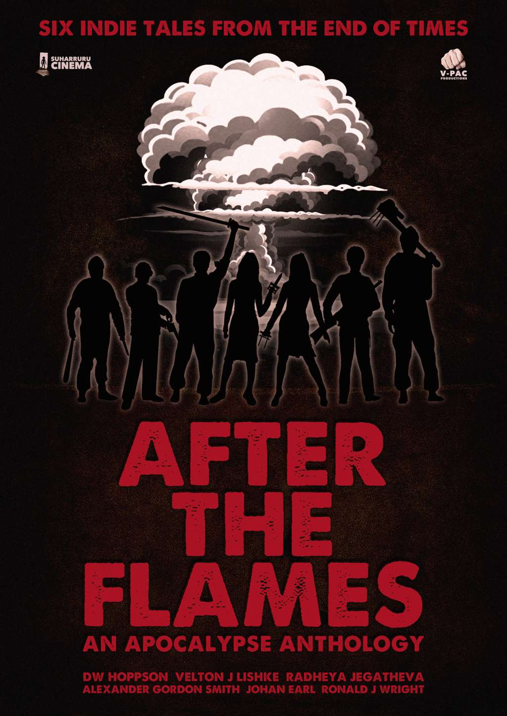 After the Flames - An Apocalypse Anthology kapak
