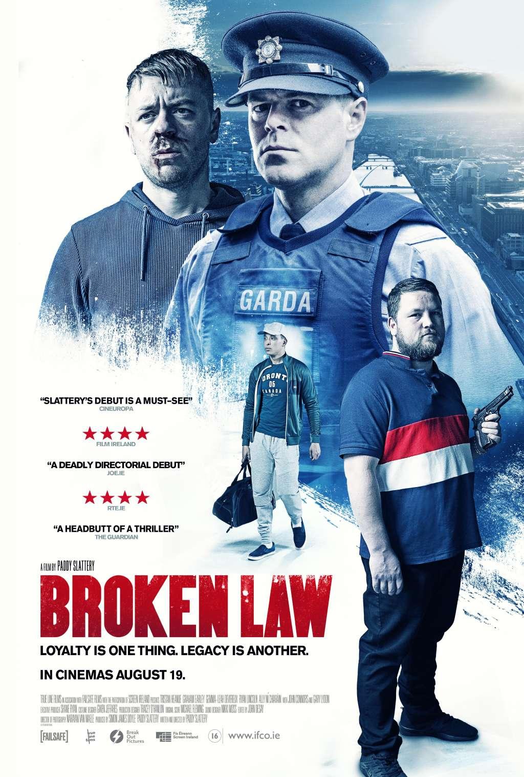 Broken Law kapak