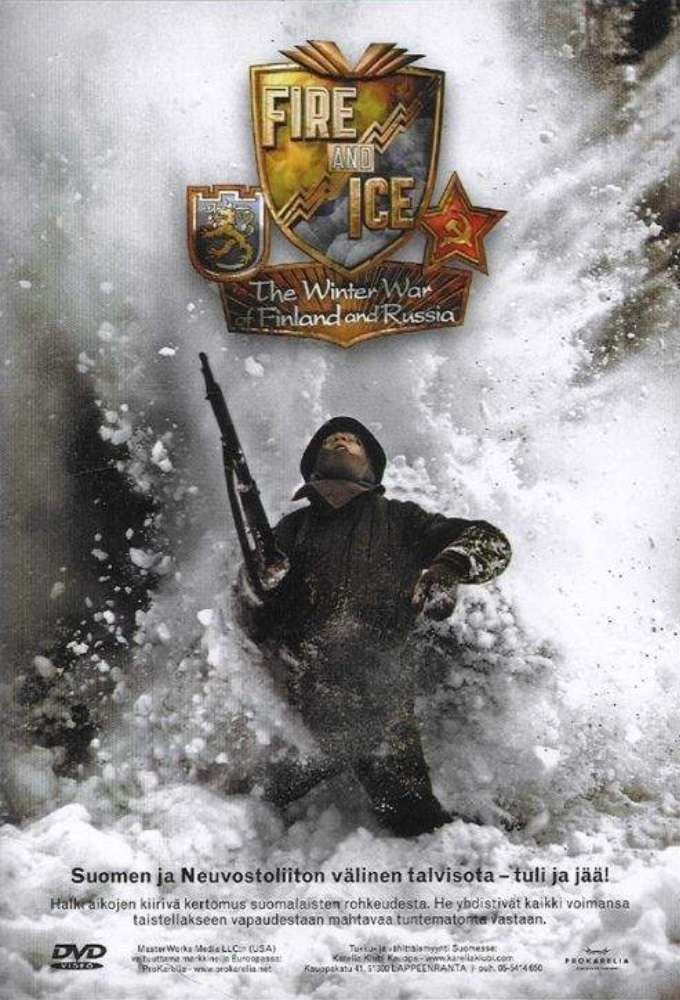 Fire and Ice: The Winter War of Finland and Russia kapak