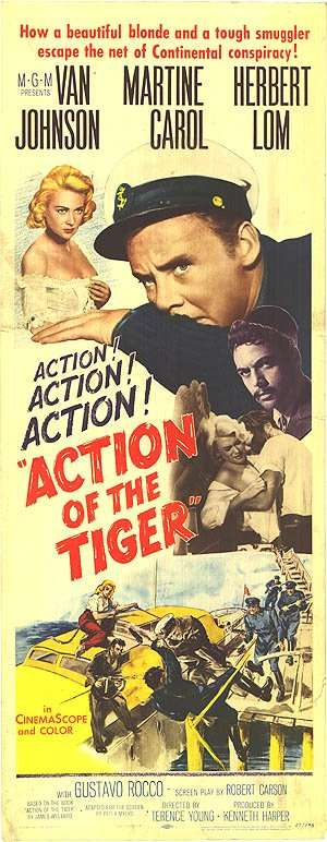Action of the Tiger kapak