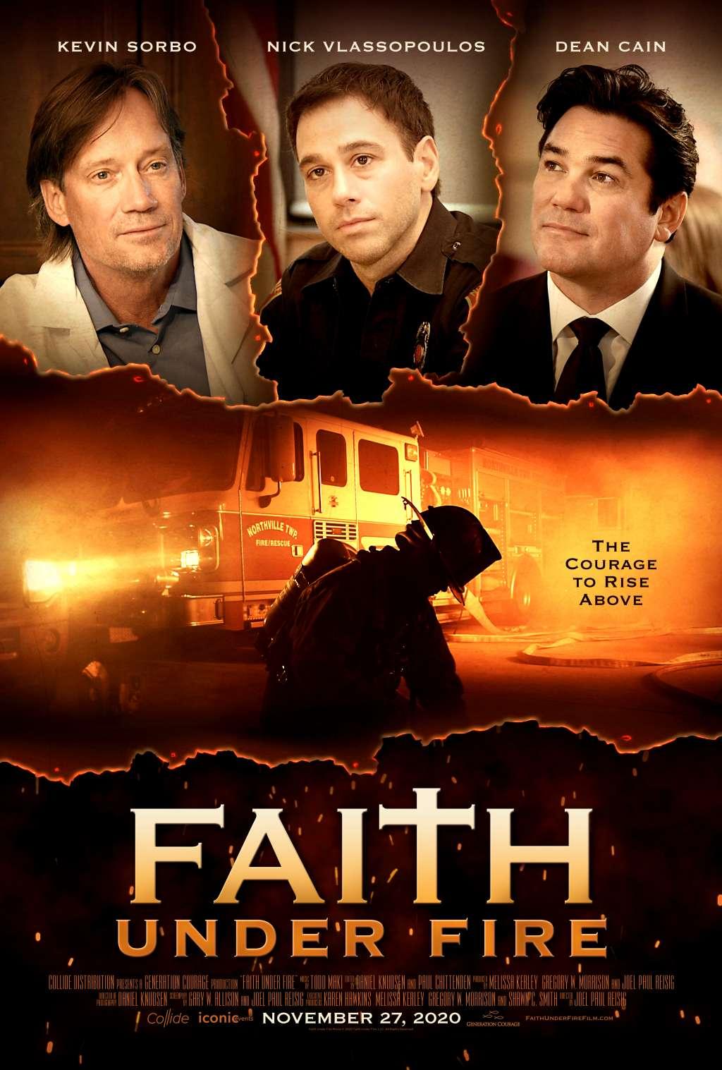 Faith Under Fire kapak