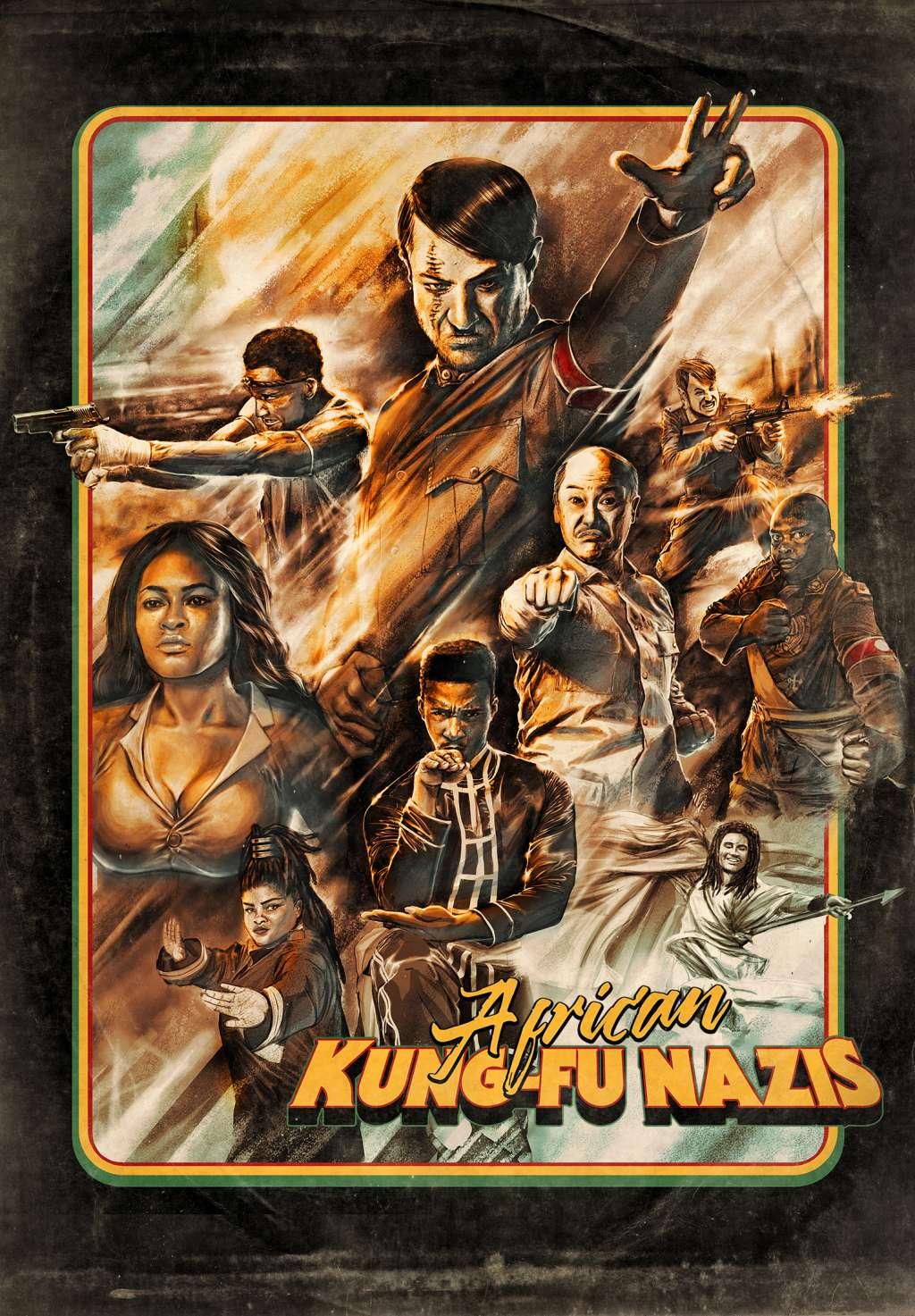 African Kung-Fu Nazis kapak