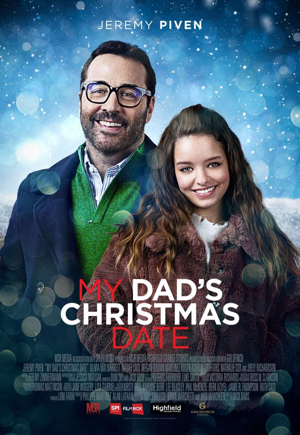 My Dad's Christmas Date kapak