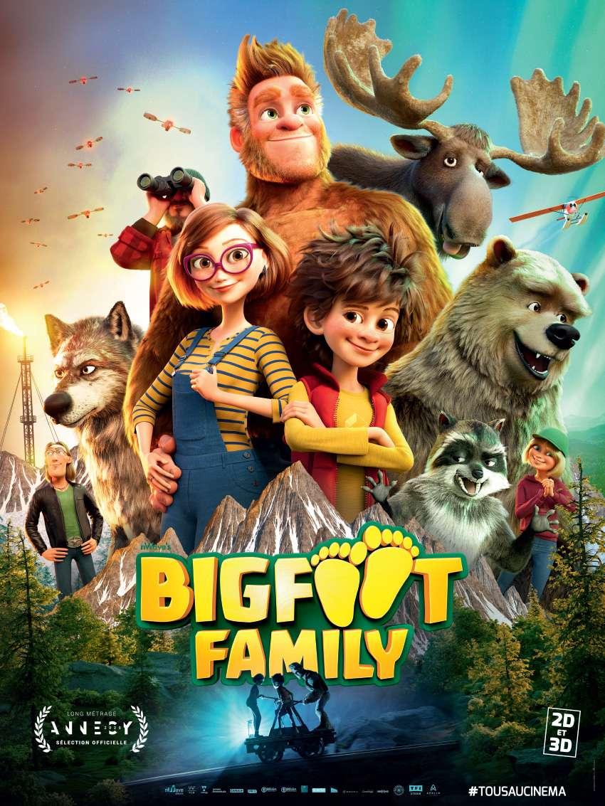 Bigfoot Family kapak