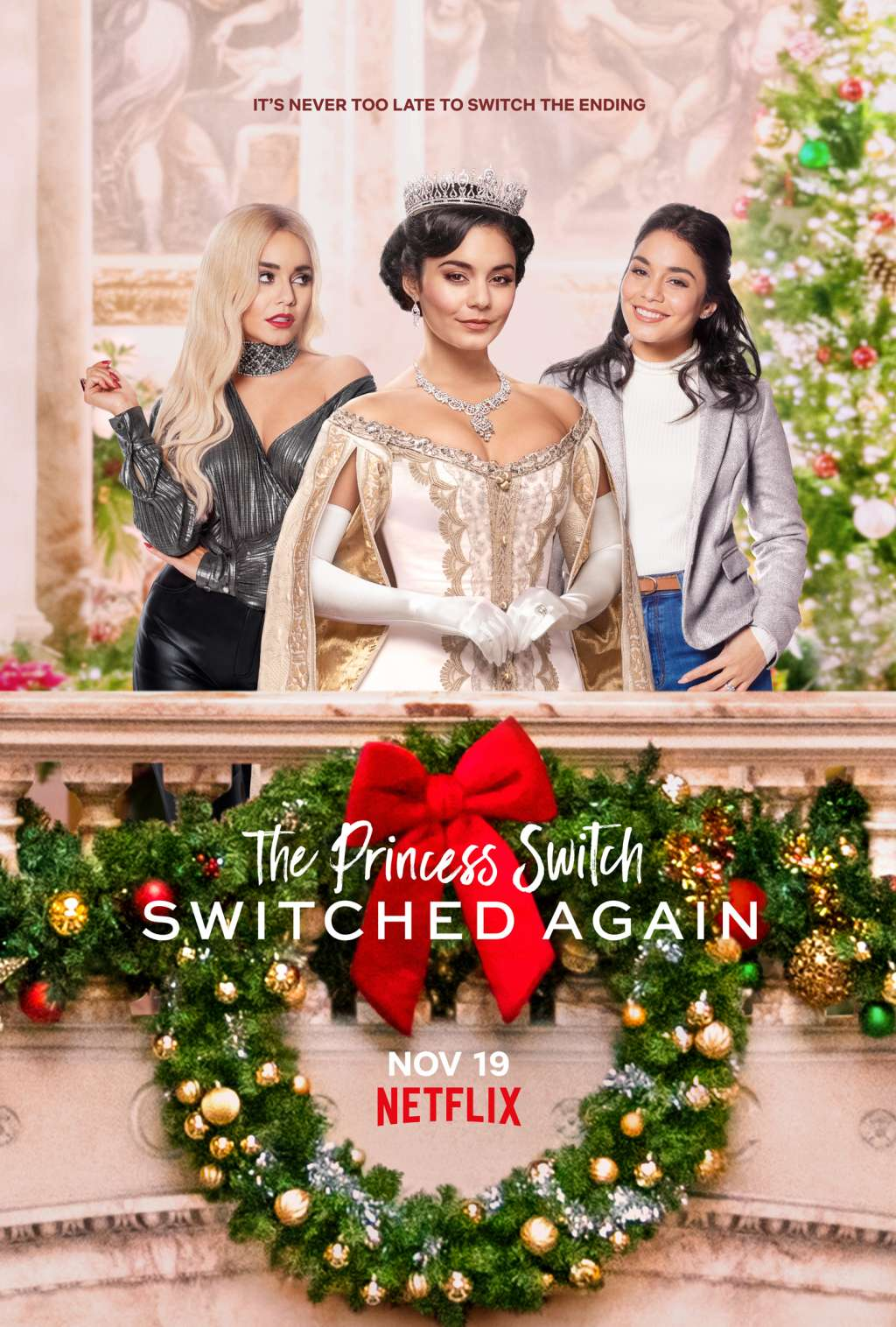 The Princess Switch: Switched Again kapak