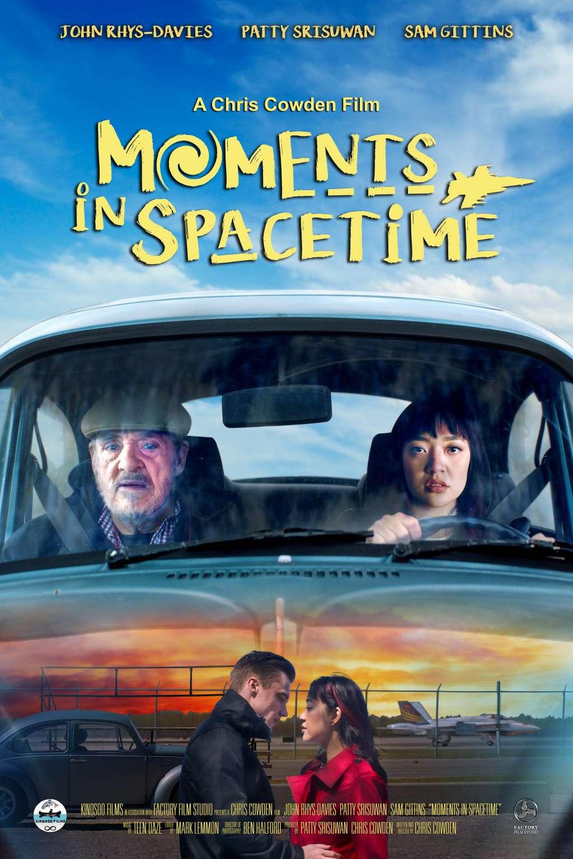 Moments in Spacetime kapak