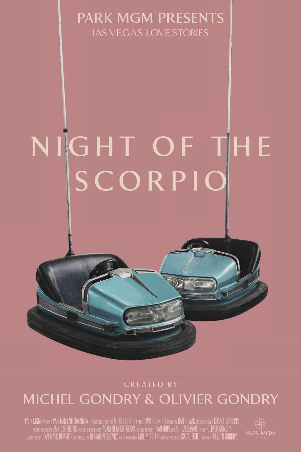 Night of the Scorpio kapak