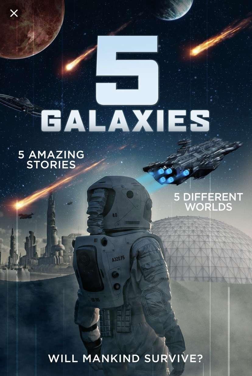 5 Galaxies kapak