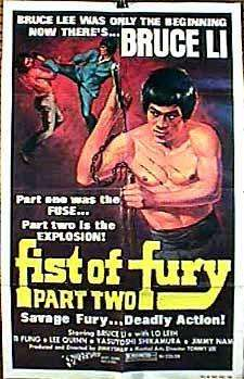 Fists of Fury II kapak