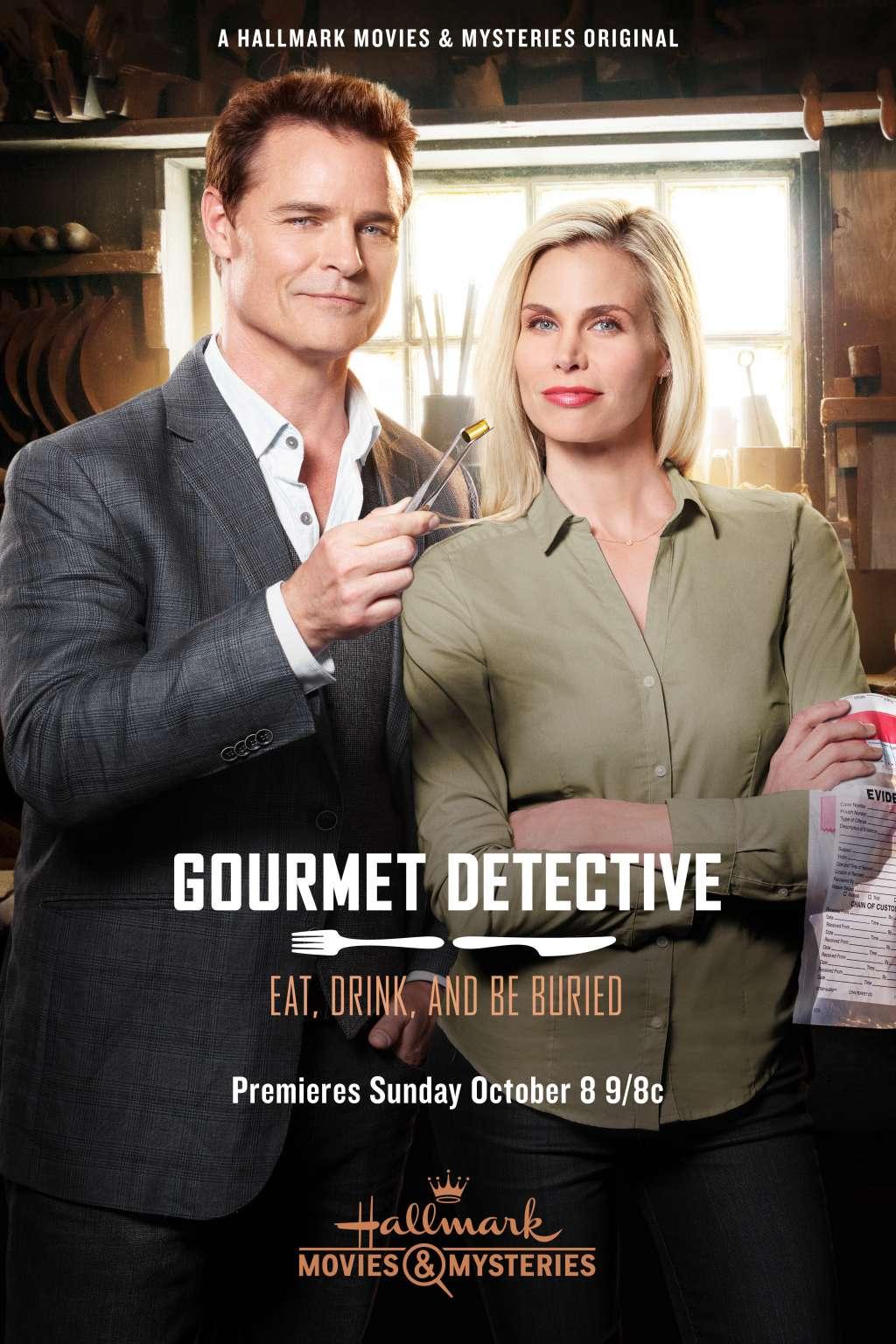 The Gourmet Detective kapak