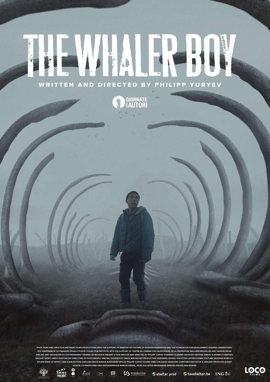 The Whaler Boy kapak