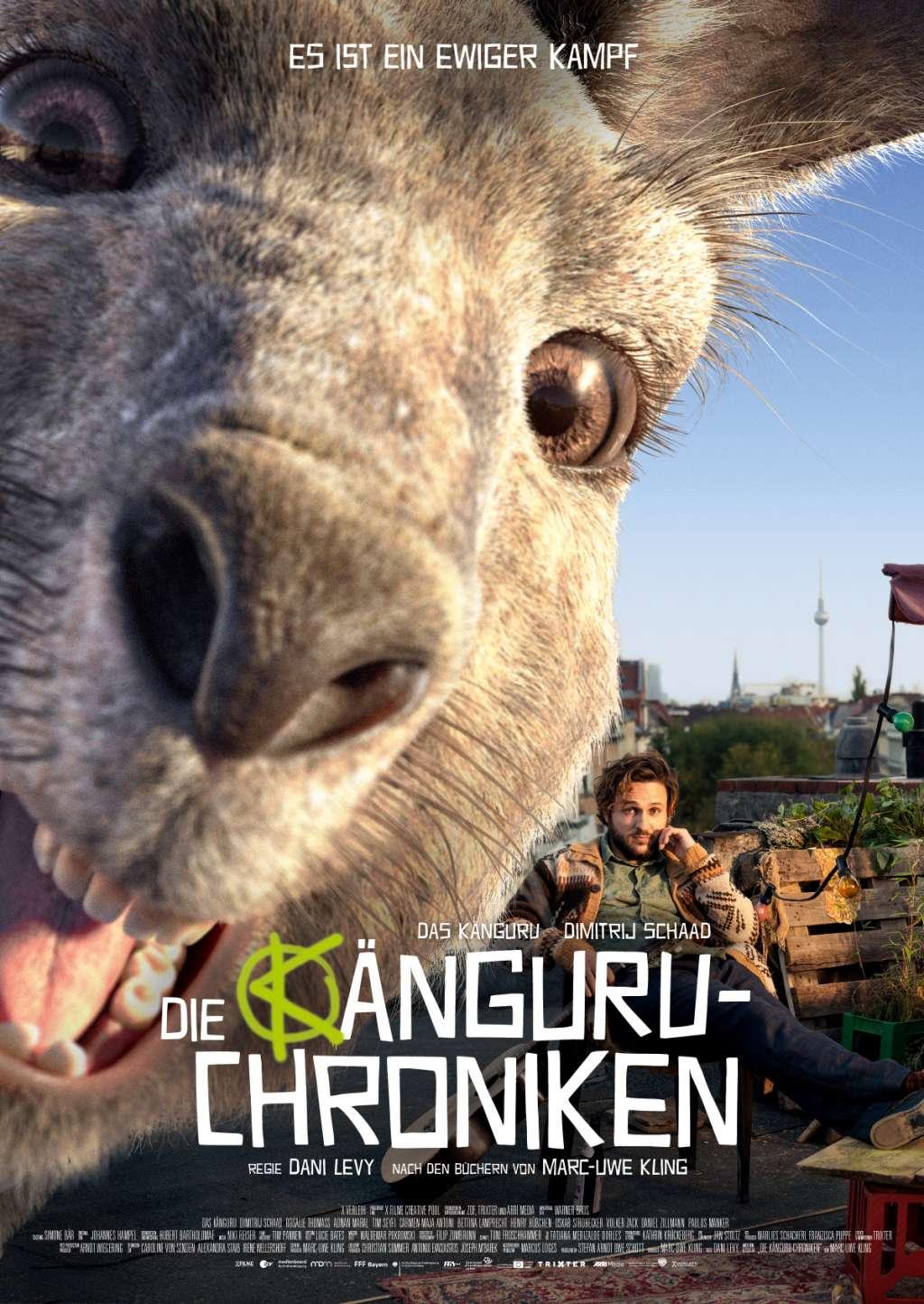 Die Känguru-Chroniken kapak