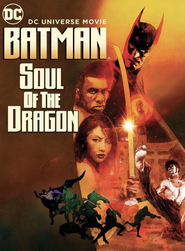 Batman: Soul of the Dragon kapak
