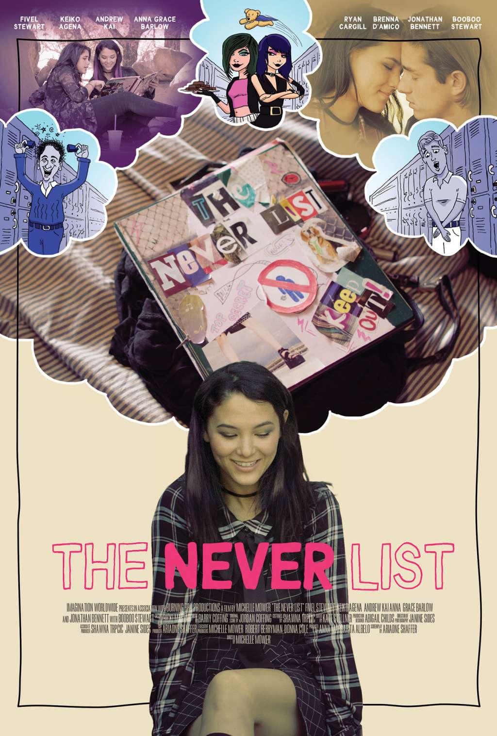The Never List kapak