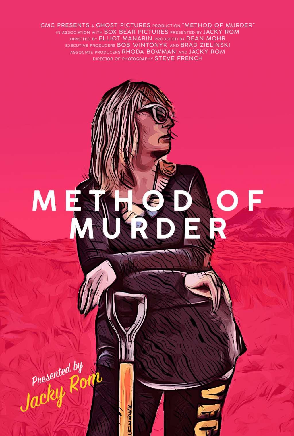Method of Murder kapak