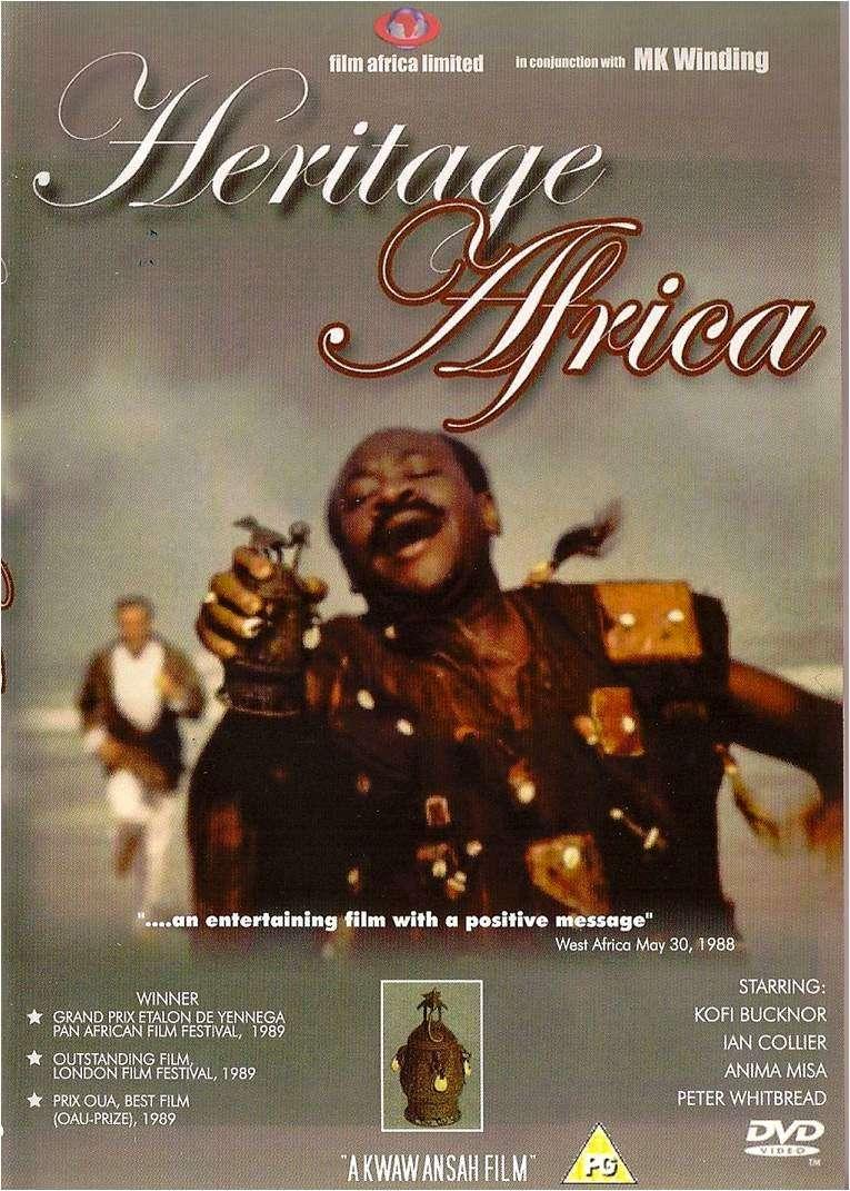 Heritage Africa kapak