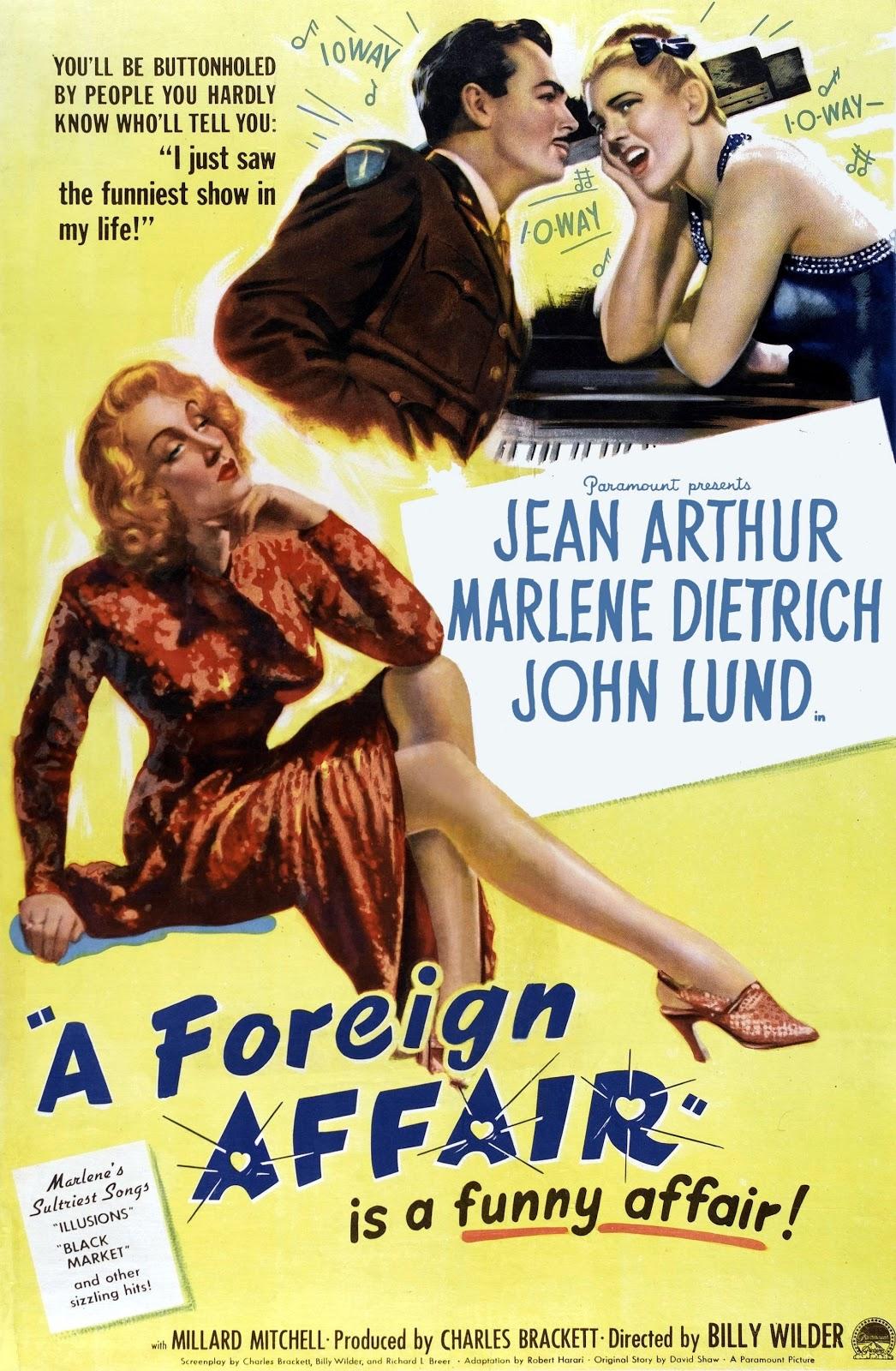 A Foreign Affair kapak