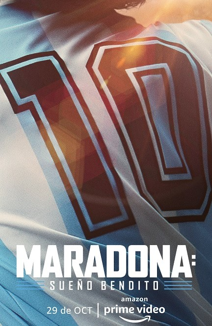 Maradona: Blessed Dream kapak
