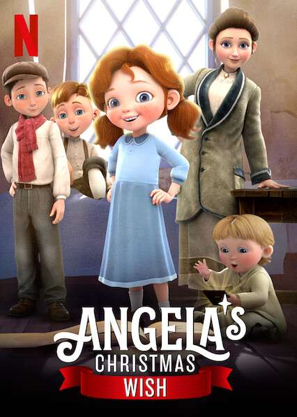 Angela's Christmas Wish kapak
