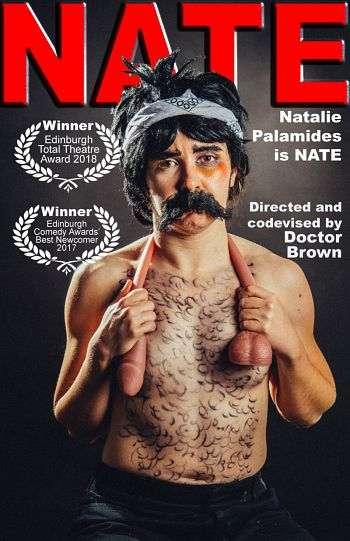 Natalie Palamides: Nate - A One Man Show kapak