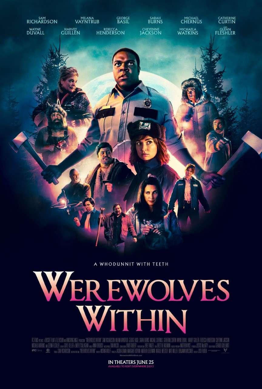 Werewolves Within kapak