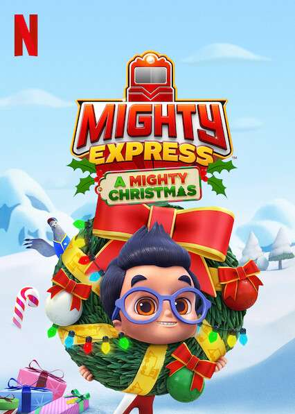 Mighty Express: A Mighty Christmas kapak