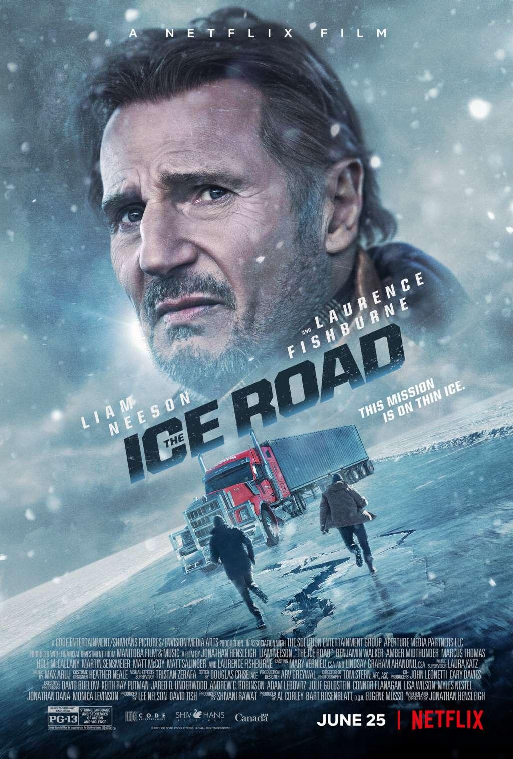 The Ice Road kapak