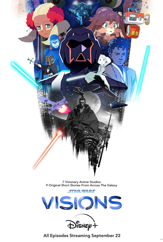 Star Wars: Visions kapak
