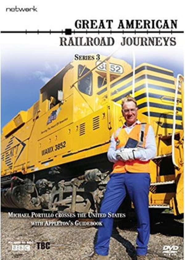 Great American Railroad Journeys kapak