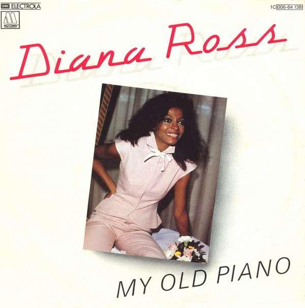 Diana Ross: My Old Piano kapak