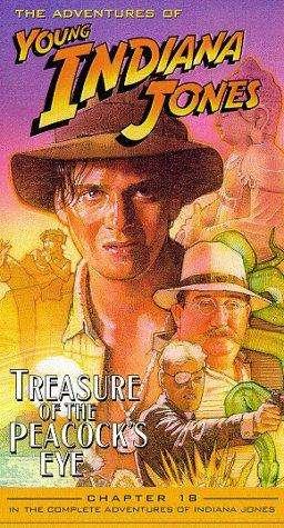 The Adventures of Young Indiana Jones: Treasure of the Peacock's Eye kapak