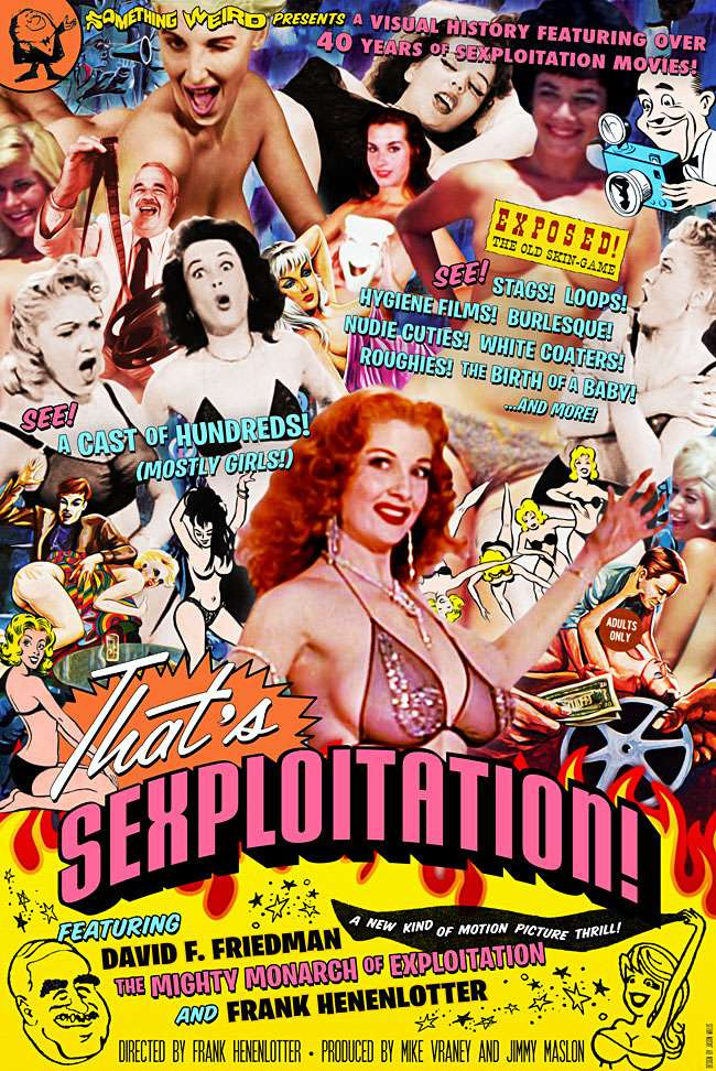 That's Sexploitation! kapak