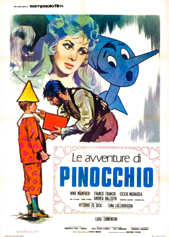 Le avventure di Pinocchio kapak