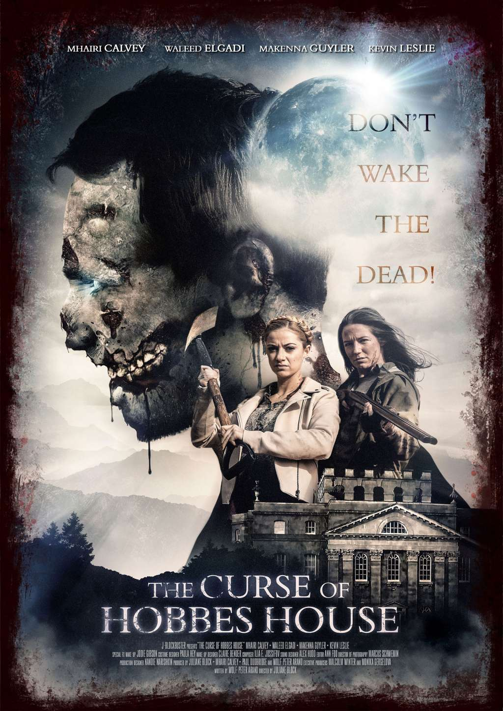 The Curse of Hobbes House kapak