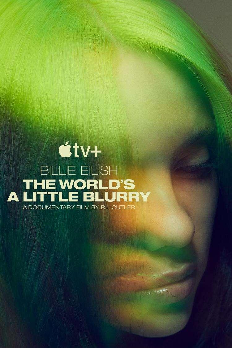 Billie Eilish: The World's A Little Blurry kapak