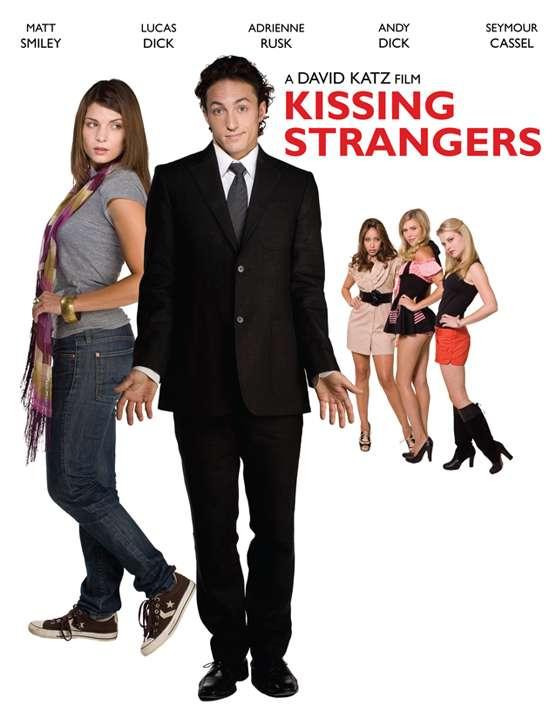 Kissing Strangers kapak