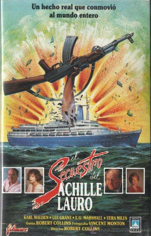The Hijacking of the Achille Lauro kapak