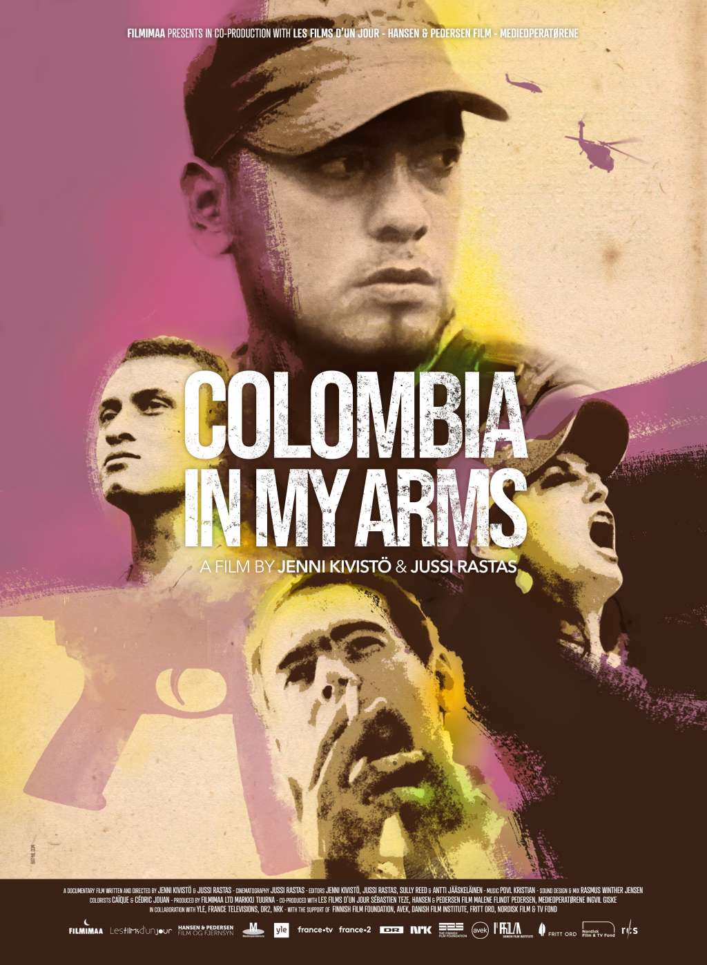 Colombia in My Arms kapak