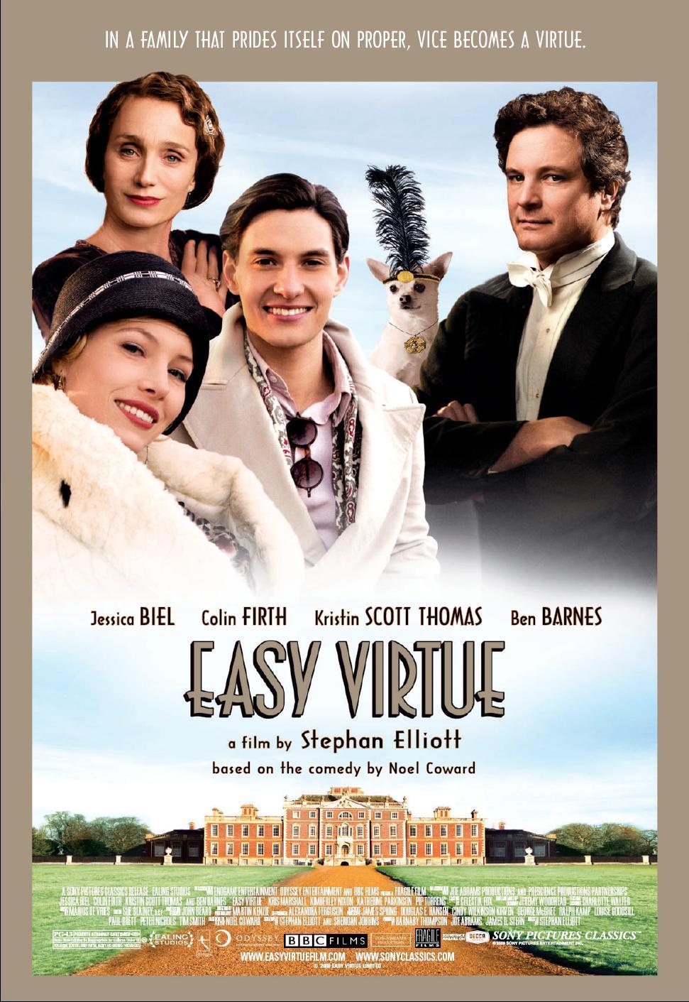 Easy Virtue kapak
