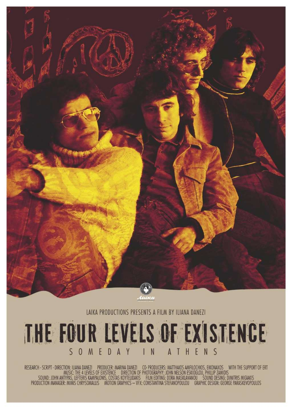 The Four Levels of Existence kapak
