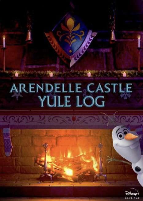 Arendelle Castle Yule Log kapak