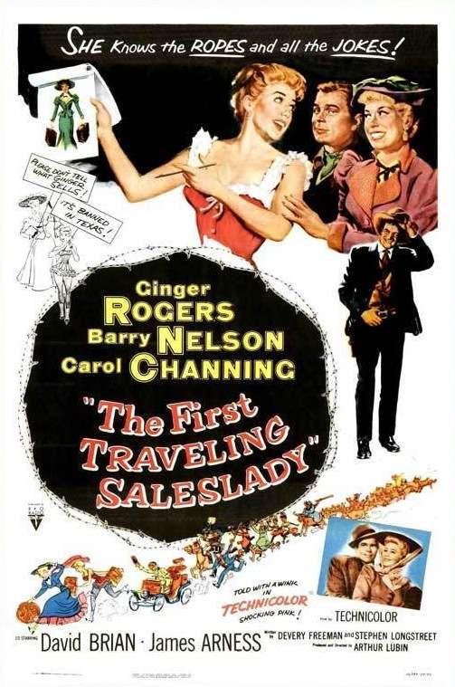 The First Traveling Saleslady kapak