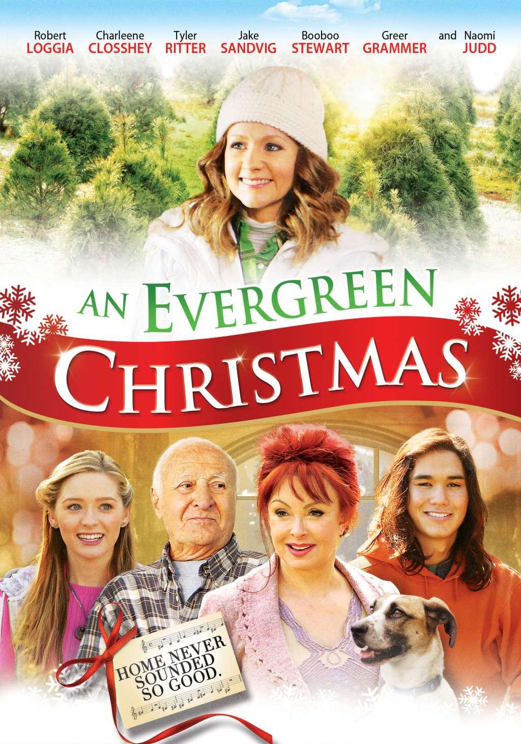 An Evergreen Christmas kapak