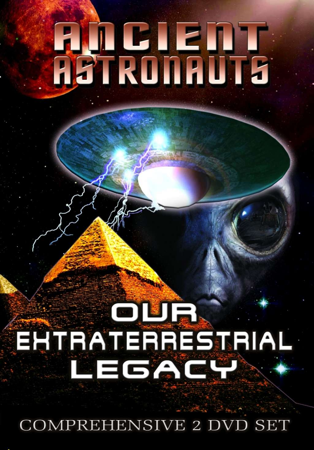 Ancient Astronauts: The Gods from Planet X kapak