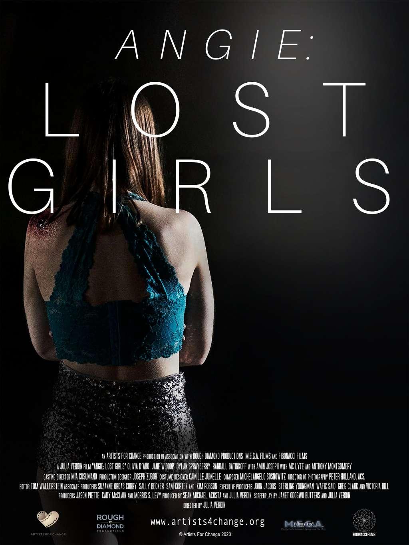 Angie: Lost Girls kapak