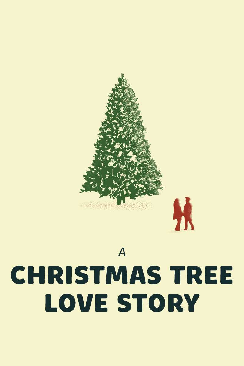 A Christmas Tree Love Story kapak