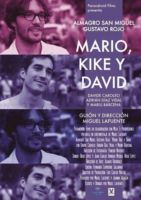 Mario, Kike y David kapak