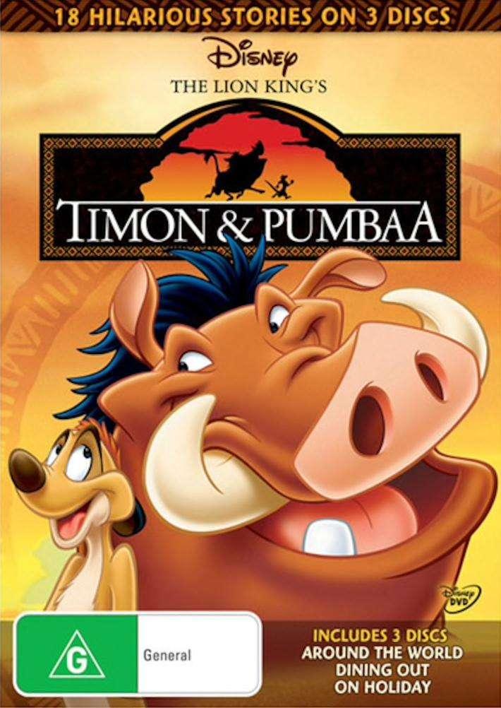 Timon & Pumbaa kapak