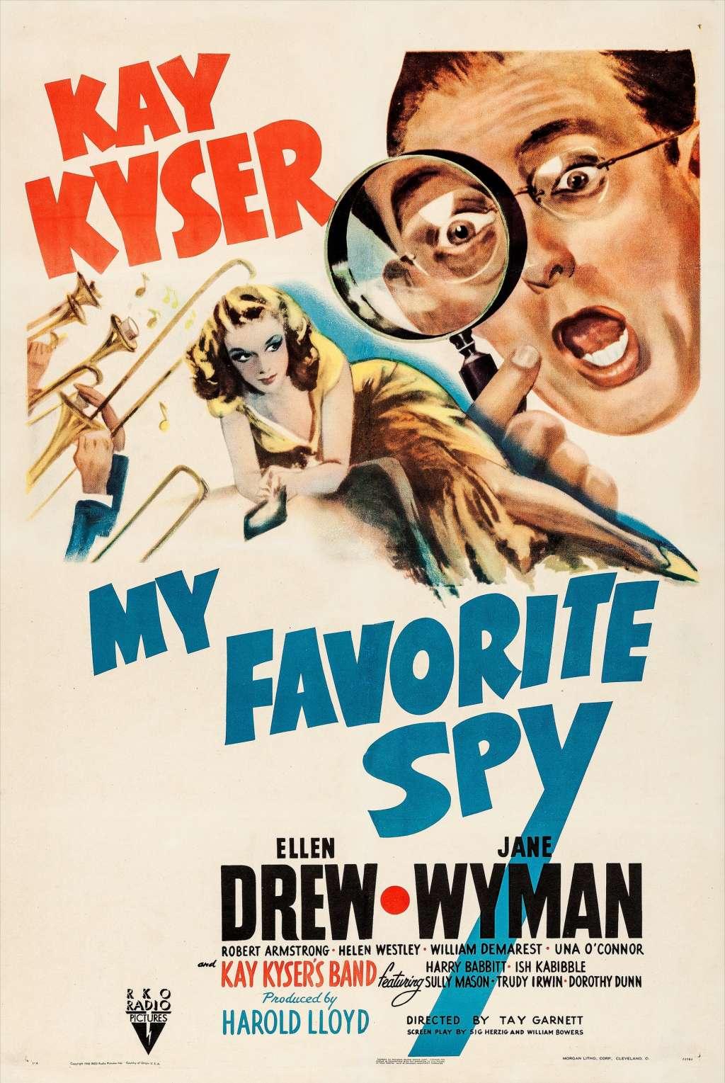 My Favorite Spy kapak