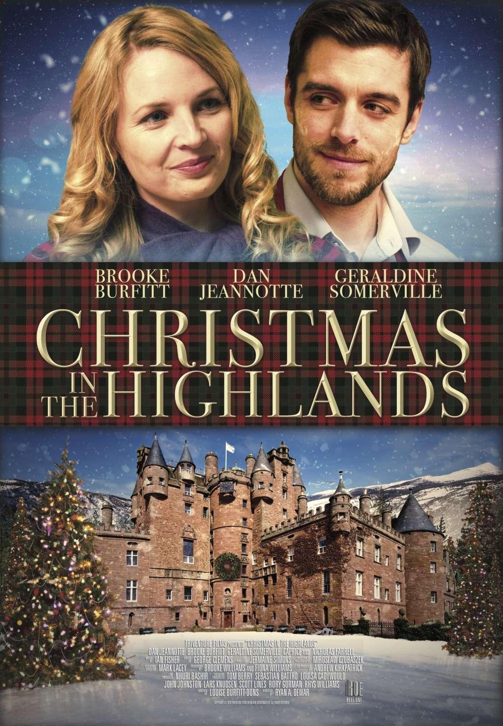 Christmas in the Highlands kapak